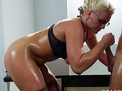 Devilish porn actress Sadie Swede is butt plugged doggy style. She then gets on top of hard dong bouncing her ass intensively. Exciting anal fuck video presented by Brazzers Network.