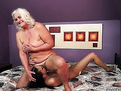 Blonde Judi and Lyen Parker do dirty things in lesbian action