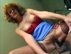 Anal fucking reminds this mature bitch on some perfect old times when she was not that old and when she could be on top of that big glans forever.