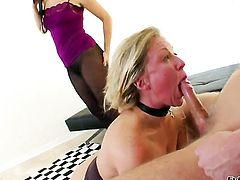 Danny Wylde fucks Dia Zerva as hard as possible in anal action after she gets her mouth fucked