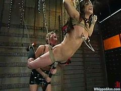 This is some nightmare for Tory Lane. She gets naked and lets her mistress do whatever she wants. A lot of pain will go through her petite body!