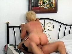 Wild mature slut Beatrice love hard cock and she can not wait to feel it in her slimy cunt, that stud is there to make her happy and pleased.