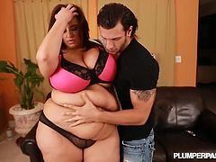 Plumper Pass brings you an exciting free porn video where you can see how the busty bbw brunette Sofia Rose gets banged deep and hard into a massive orgasm.