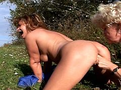 These filthy grannies are not shy to invite us today as they enjoy their outdoor lesbian affairs. Hairy old cunts under the sun are what they are offering us.