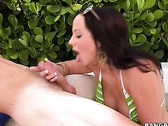 Lindy Lane makes guys sexual fantasies come true with her help of her warm hands
