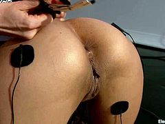 See the naughty action in this lesbian domination strapon video where Beretta James gets anal fucked by Lorelei Lee.