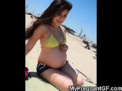 Cute Pregnant Teen GFs!
