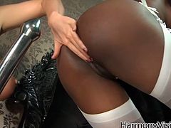 You are right here to enjoy watching two libidinous lesbians for free. One seductive white slut seduces ebony chick and touches her big black ass and appetizing tits.