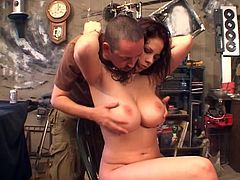 Horny brunette Gianna Michaels is so damn naughty!
