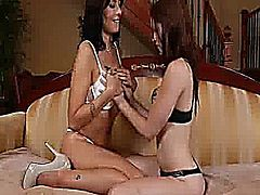 What better way to learn about great lesbian sex than from an older woman? These couples have plenty in common when it comes to licking, sucking, fingering