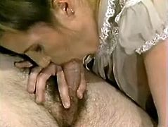 Pregnant blonde Candy Essexx spreads her legs wide open and allows some guy to fuck her snatch with a dildo. Then she takes the man's boner into her vag and they have ardent doggy style sex.
