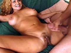 Rebecca stripping for her lover to his big dick hard. This lucky dude got mature goddes to fuck, so he screw her every hole. After amazing sex she wants to feel warm sperm on her body