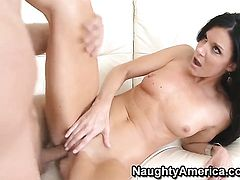 Danny Wylde is horny as hell and cant wait any longer to screw flirty India Summers muff pie