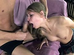 First Time Anal - Blonde Teen