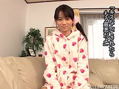This petite and sizzling babe Auska Hoshimo is going to get high from the taste of that dick! Oh, she is so fucking amazing!
