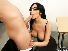 Danny Wylde gets seduced into fucking by Asian Diana Prince