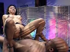 Sizzling fucking as Asian lovers enjoy non-stop pussy ramming on top of filthy billiards table.