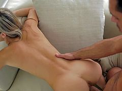 Adorable Gina Gerson moans like never before while having her juicy twat drilled properly