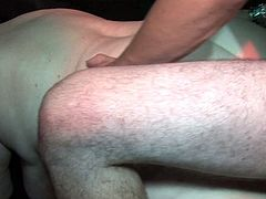 Watch this horny old babe enjoying that big plastic dildo sticked in her wet pussy and butthole in Old Nanny sex clips.