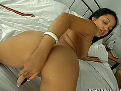 Get ready to jerk off and bust a nut as you watch Abella getting wetter and wetter as she masturbates with a dildo.