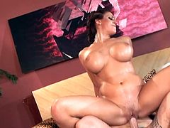 Buxom milf Eve Laurence fucked in the voluptuous action