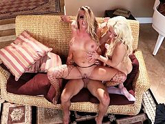 Watch this horny and kinky bithces suck taht large cock one by one and get banged really hard in Wicked sex clips.