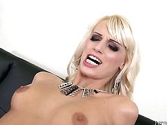 Erica Fontes sucks like a sex crazed animal in steamy oral action with John E Depth