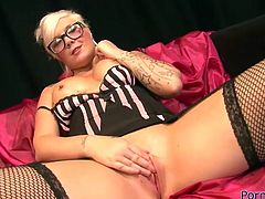 These gorgeous lesbians know how to make sex sexier. They rub oil all over each other's seductive bodies paying special attention to their pussies.