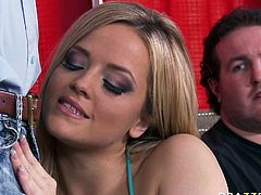 Watch this hottie getting banged in her wet and tight pussy by her new friend in her bedroom in Brazzers Network sex clips.
