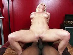 Man, she is such an angel that loves it huge! She takes that black cock and it's going to make her stun out loud. Hardcore interracial!
