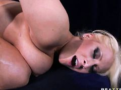 Candy Manson with huge tits and hot dude Danny Mountain are in the mood for anal sex