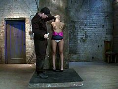 This juicy and super horny siren Annie Cruz is in relaxations of BDSM style! This slut somehow loves it in pain and she gets some today!