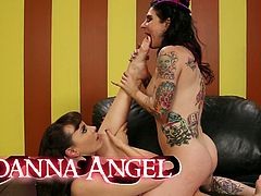 Burning Angel brings you an amazing free porn video where you can see how some wild punk sluts are ready to be very perverse as they get drilled into massive orgasms.