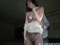 Take a look at this late night booty call with the horny Natsumi Shirai. Watch this Asian babe being nailed by this guy hard cock.