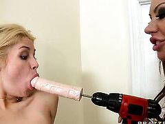 Sarah Vandella  Mason Moore gets ass hardcored