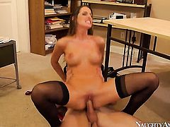 Johnny Sins is horny as hell and cant wait no more to screw Kortney Kane