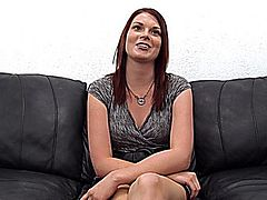 Redhead Laura says she knows she is quiet during sex but failed to tell me until after her audition Quiet is an understatement If she hadnt been grinding her hips into my face as I was eating her out so she could cum I wouldve thought this girl didnt want to be paid at all She was REAL weird fellas