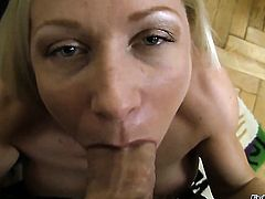Helena White gets her throat fucked hard and deep by Rocco Siffredi