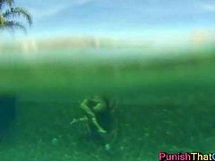 Amazing Underwater Lesbian Sex Black and Isis