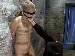 Yuki Mori the submissive Japanese chick gets tied up by her master. Later on she gets her pussy toyed with a vibrator. Then she also gets face fucked.