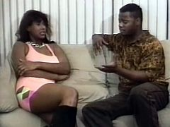 At the beginning of the retro porn video, black chick is screwed doggy style in the bathroom. The guy from the first scene flirts with another chick right after having hardcore fuck in the bathroom. He now gets deepthroat blowjob from another horny wench.