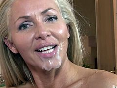 And here is this amazing compilation of facial cumshot scenes! Chicks love it too and every babe in this compilation simply can't wait to be jizzed.