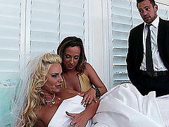Phoenix Marie & Jada Stevens Naughty Weddings