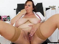 Very Fat Mature Nurse