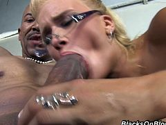 This insatiable hoe went to her black neighbors and they quickly discovered her intentions so they fucked all of her holes to satisfied that slut.