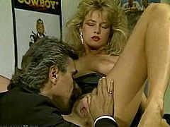 This sex-starved office assistant is so fucking horny that's unbelievable. She makes her co-wrker worship her snatch. Then he wants her top return the favor and go down on him.