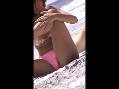 quick beach crotch shot 33 college teen cameltoe