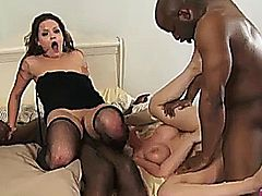 hot chick in action