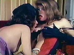 Broad assed light haired lesbo hootchie gets her ugly haired twat passionately eaten by her hot tempered brunette babe. By the way she got honeyed rim job as well. Take a look at these hungry lesbians in The Classic Porn sex clip!