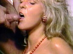 Leg spread full figured seductive slut got her limp twat turbulently loped and her wide mouth harshly poked by two throbbing penises at the same time. Take a look at this dirty 3some fuck in The Classic Porn sex clip!